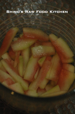 Pickledwatermeloncloseup