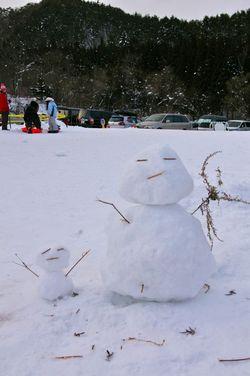 Snowmanandhisson